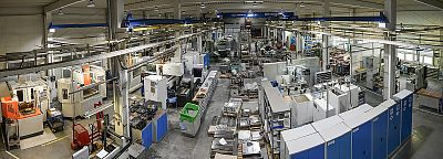Production of injection molds